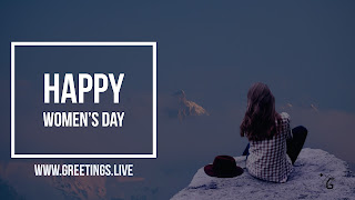 Latest women's Day wishes Image's