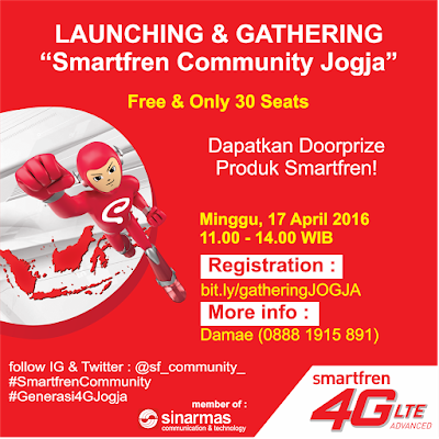 Launching & Gathering Smartfren Community Jogja