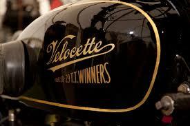 Velocette KSS Front look