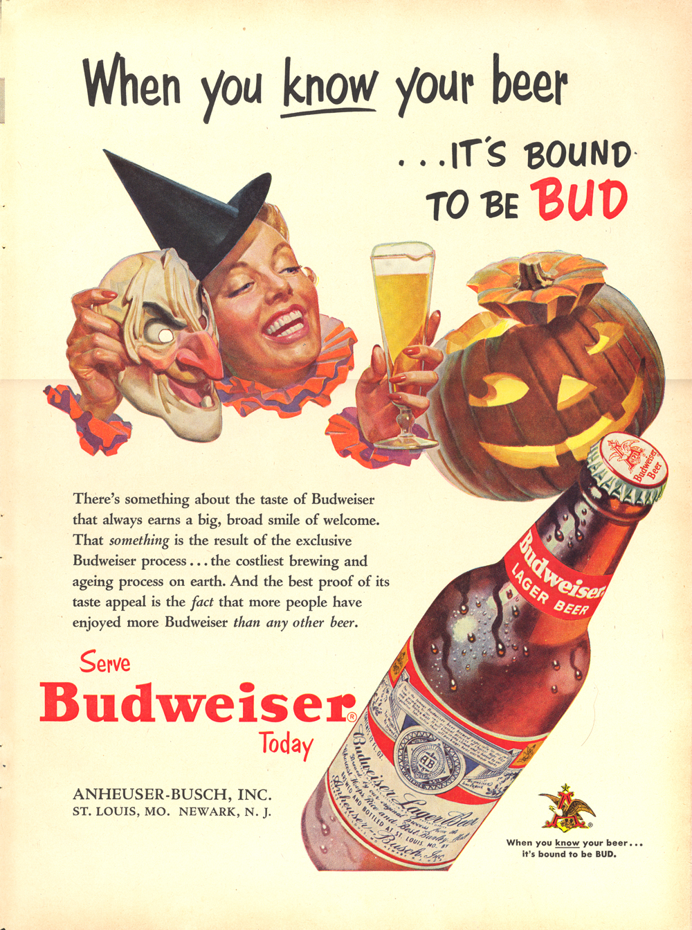 My Kinda Halloween As Seen In Advertisements Of The Past