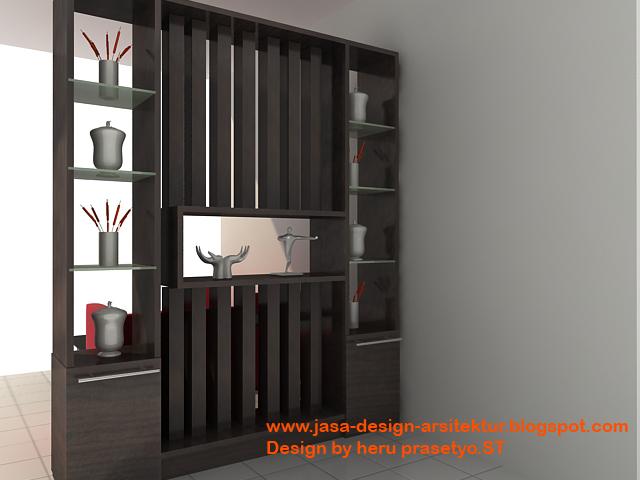 Contoh Lemari Ruang Tamu Minimalis