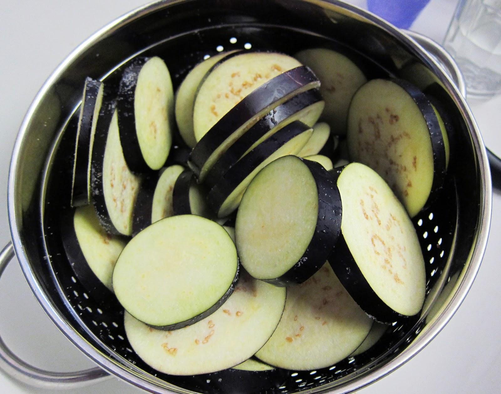 Bloatal Recall Eggplant Parmesan