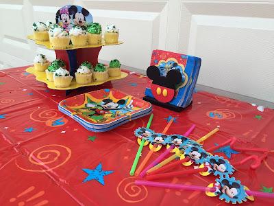 Disney Kids Mickey Mouse Party Snacks