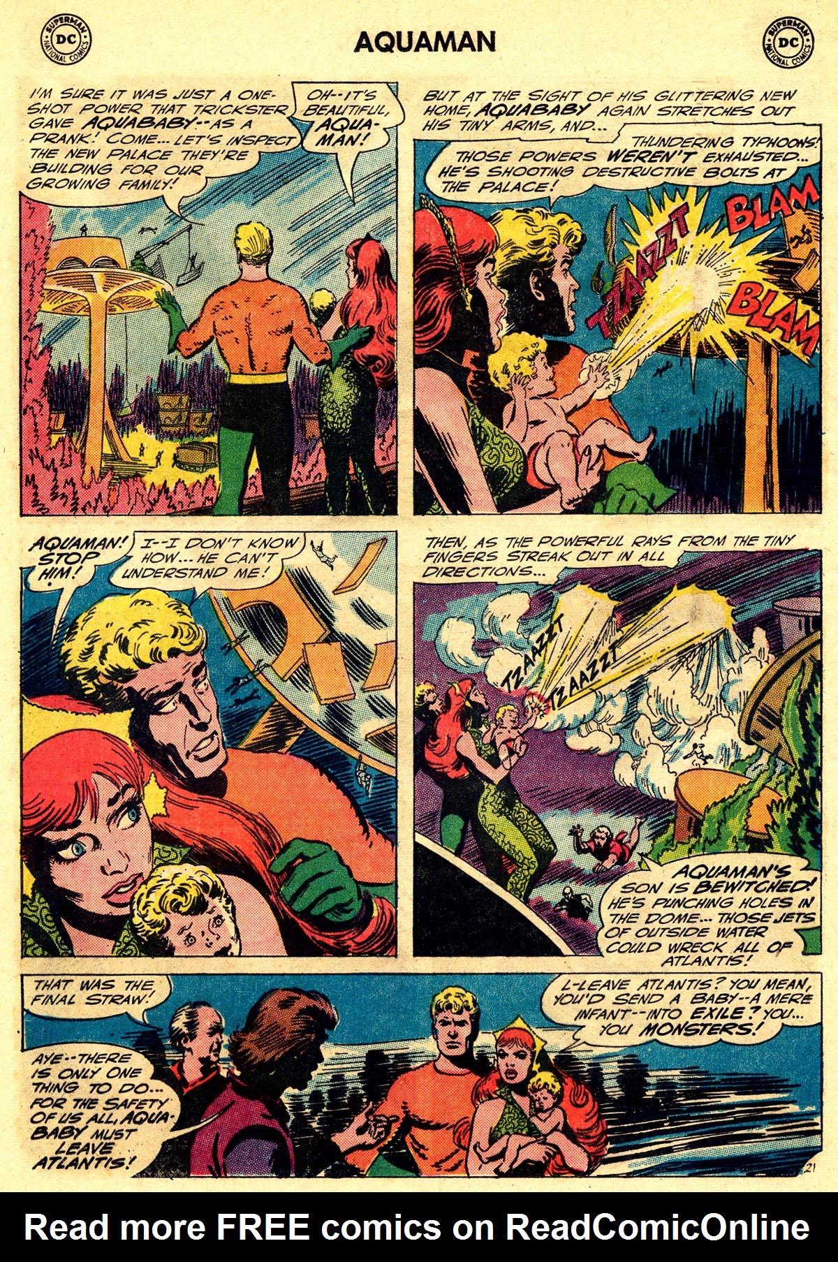 Read online Aquaman (1962) comic -  Issue #23 - 28