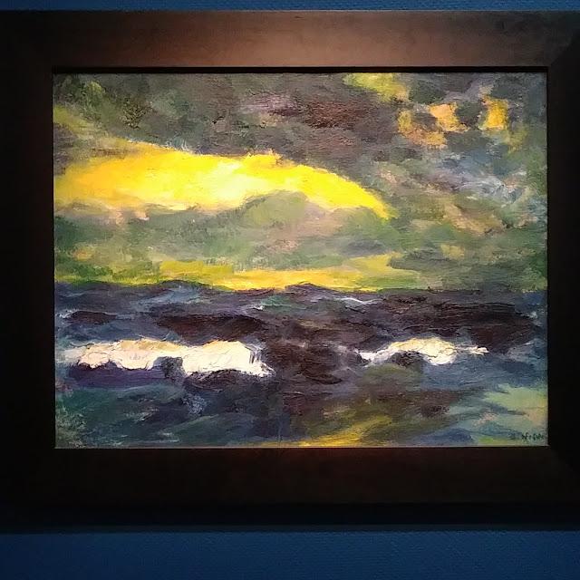 Emil Nolde seascape - title unknown