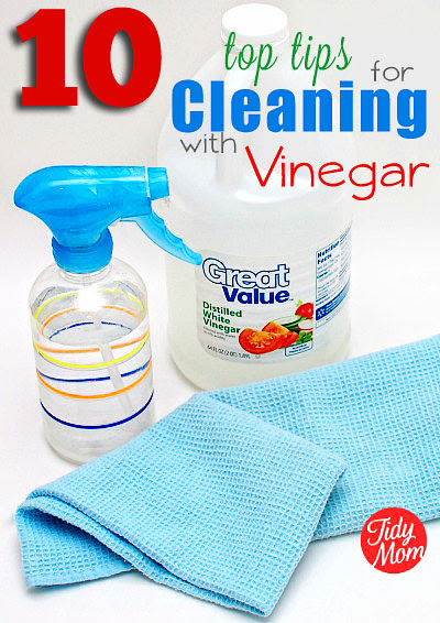 http://tidymom.net/2011/how-to-clean-with-vinegar