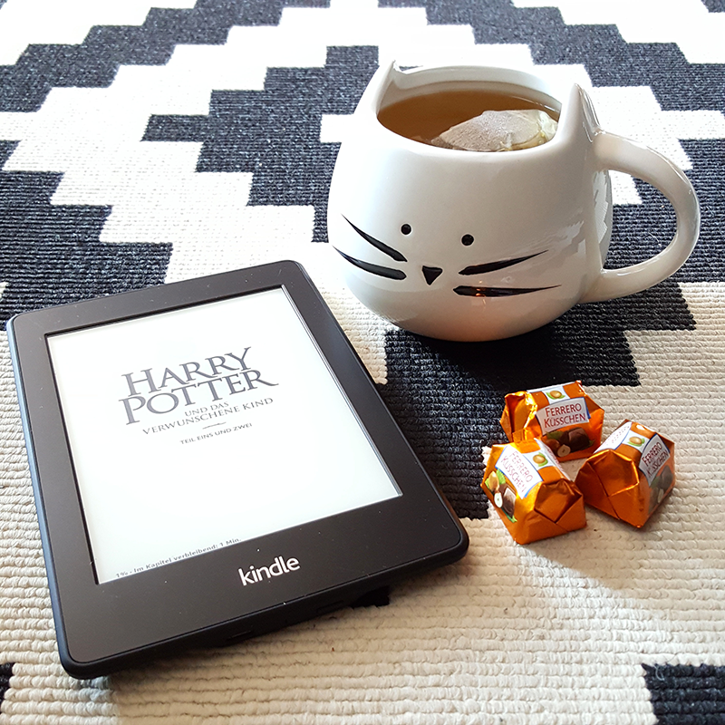 Harry Potter, Harry Potter and the cursed child, tea, Tee, kindle, amazon