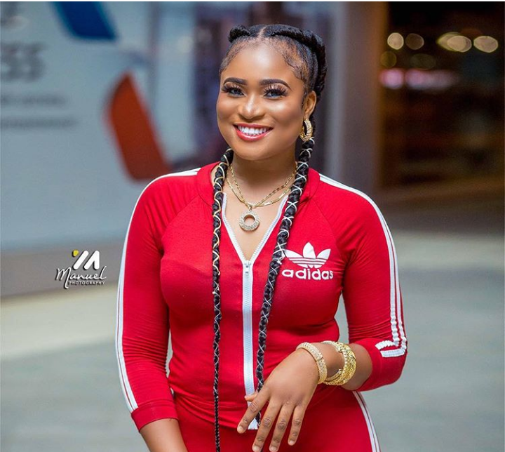 New Christabel Ekeh Has Excited Instagram users As She Steps Out Dazzling In Her Adidas Apparel _ PHOTOS