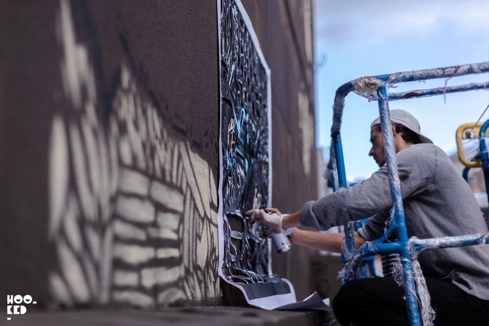 Street Art Mural by Monkeybird Crew for Waterford Walls.