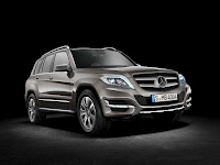 New 2012 Mercedes Benz GLK X204 Refresh Official Press