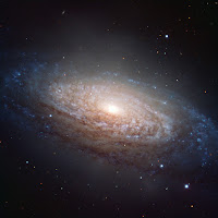 Spiral Galaxy NGC 3521