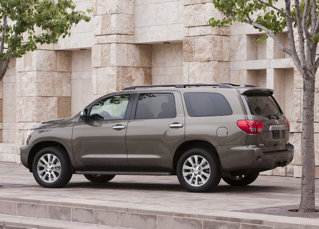 2011 Toyota Sequoia brown