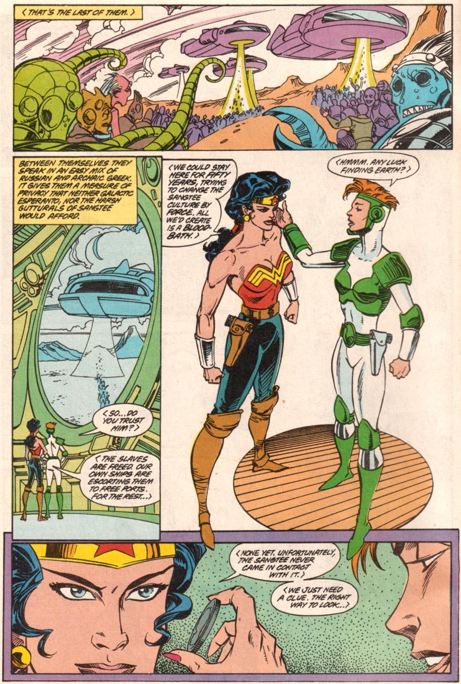 Read online Wonder Woman (1987) comic -  Issue #71 - 5
