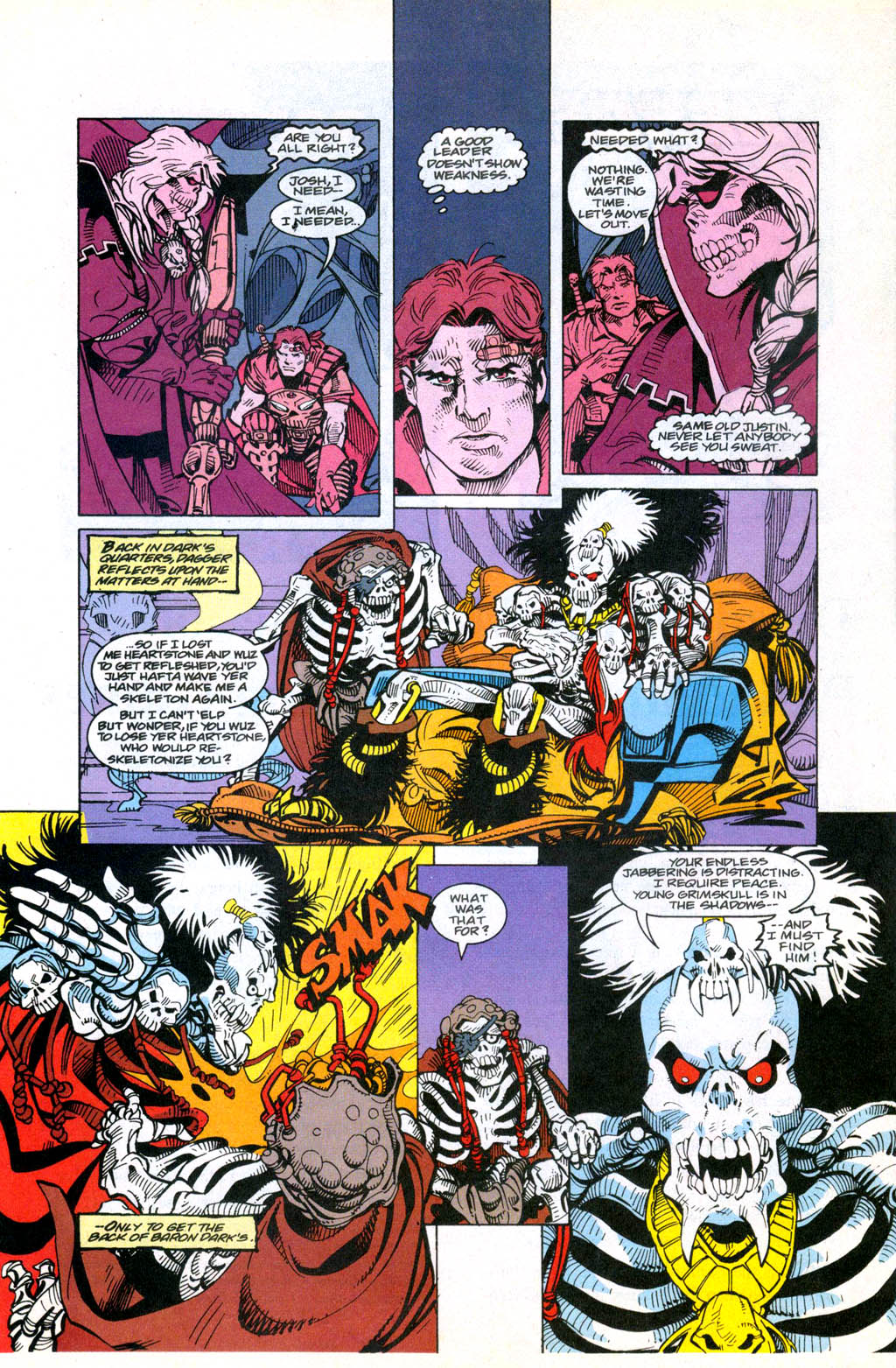 Skeleton Warriors Issue #3 #3 - English 17