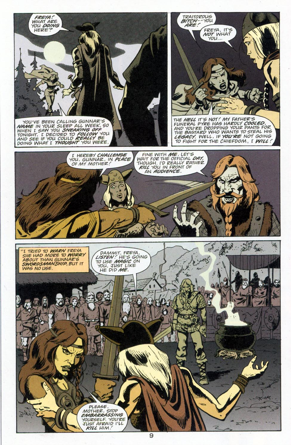 Battleaxes Issue 1 | Viewcomic reading comics online for