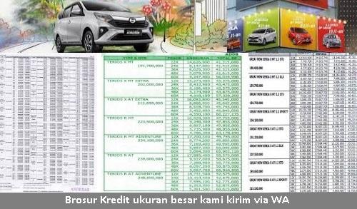 brosur harga kredit mobil daihatsu sigra samarinda tabel angsuran