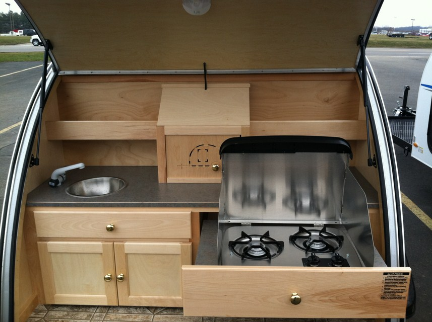 Teardrop Trailer Kitchen Design