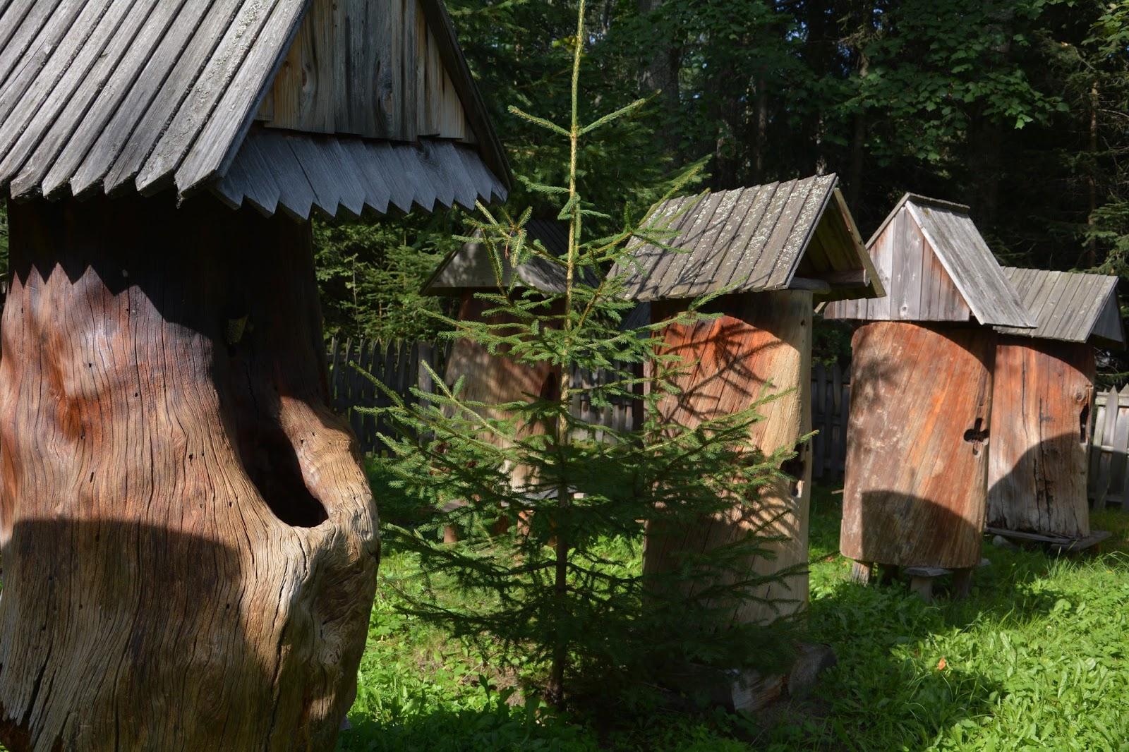 Orawski Park Etnograficzny, skansen w Zubrzycy Górnej, pasieka
