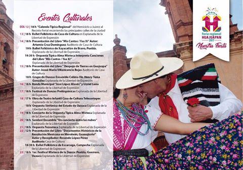 programa feria huajuapan 2017