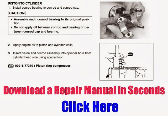 DOWNLOAD 40HP Outboard Repair Manuals: DOWNLOAD 40HP Repair Manual