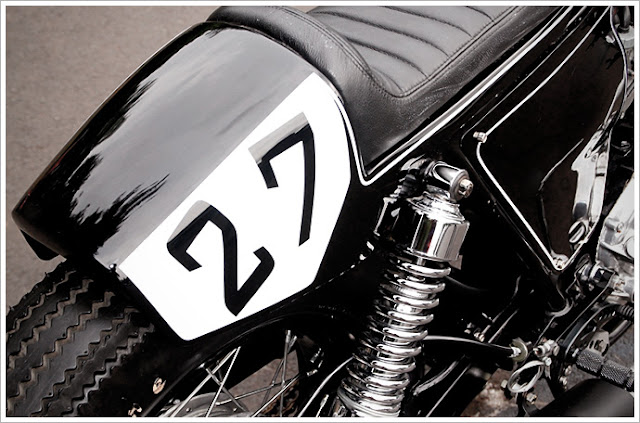 Honda CL350 By Studio Motor Hell Kustom