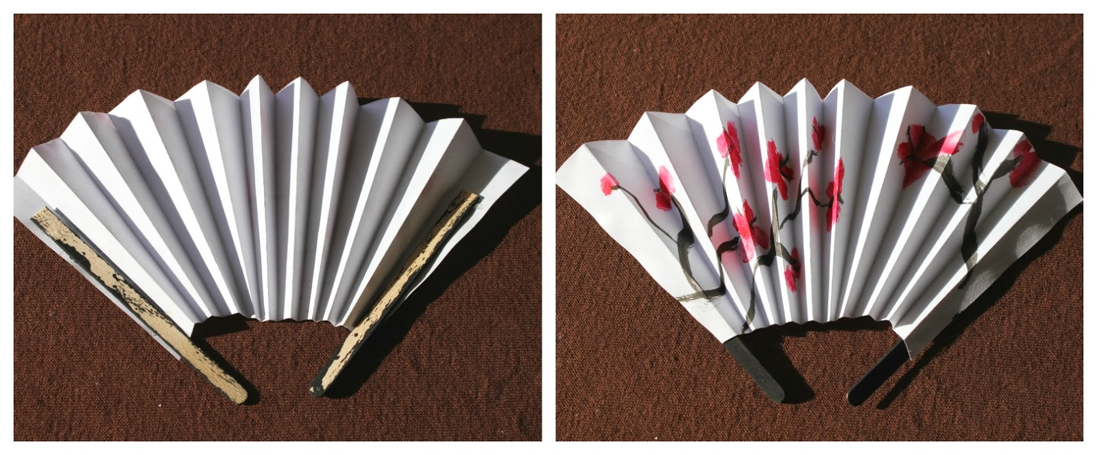 Make A Chinese Ornamental Fan