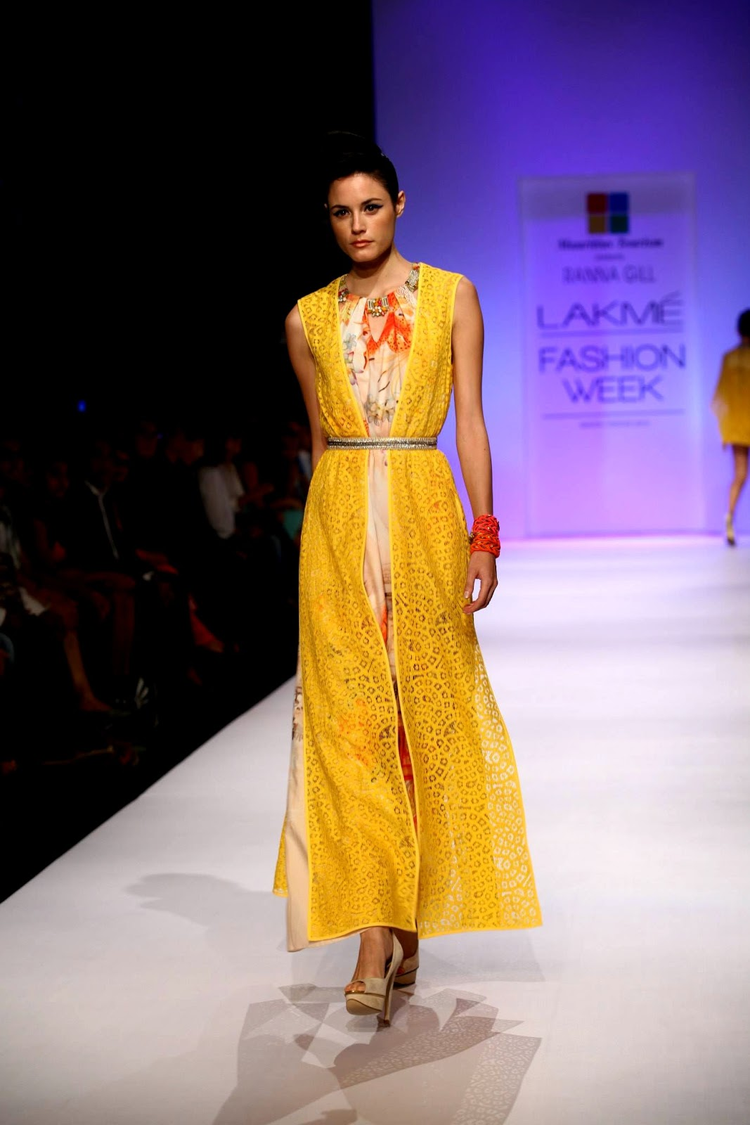 Lakmé Fashion Week Winter Festive 2018: Ranna Gill Collection By Mauritius Tourism
