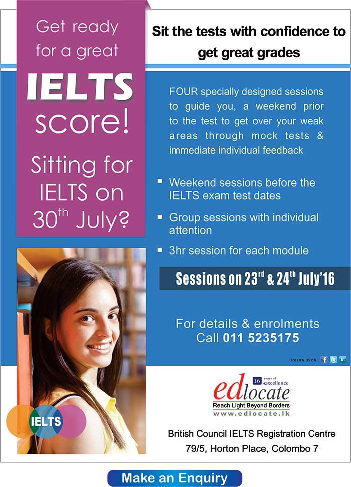 Get a great IELTS score for 30th July exam