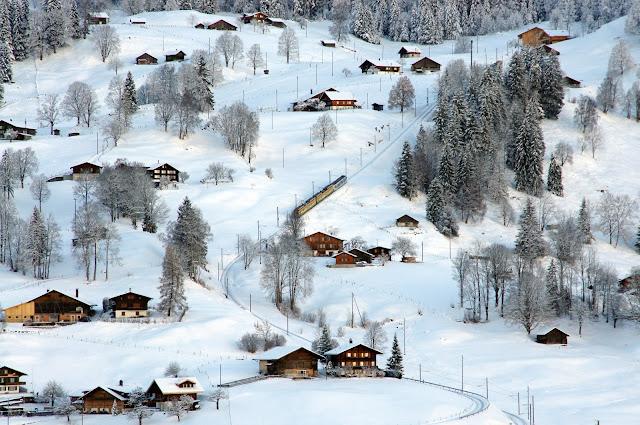 Grindelwald Switzerland Winter