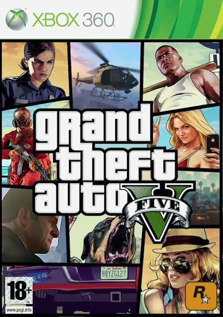 Grand Theft Auto V - Xbox 360 - Multi5 - Portada