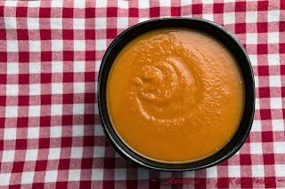Zupa z dynii z marchewką i pomarańczą