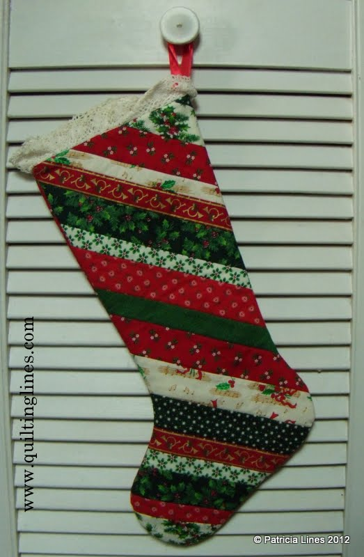 Then I Got A Little More Creative And Started Making Some Crazy Quilted Stockings Here Is Pictures Two Of Them Ll Be Sharing About How These Are