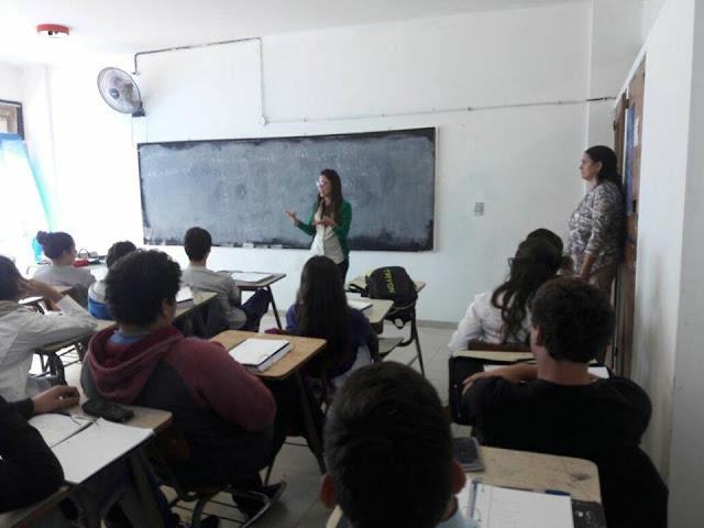 El CUM recorre las escuelas difundiendo la oferta educativa municipal