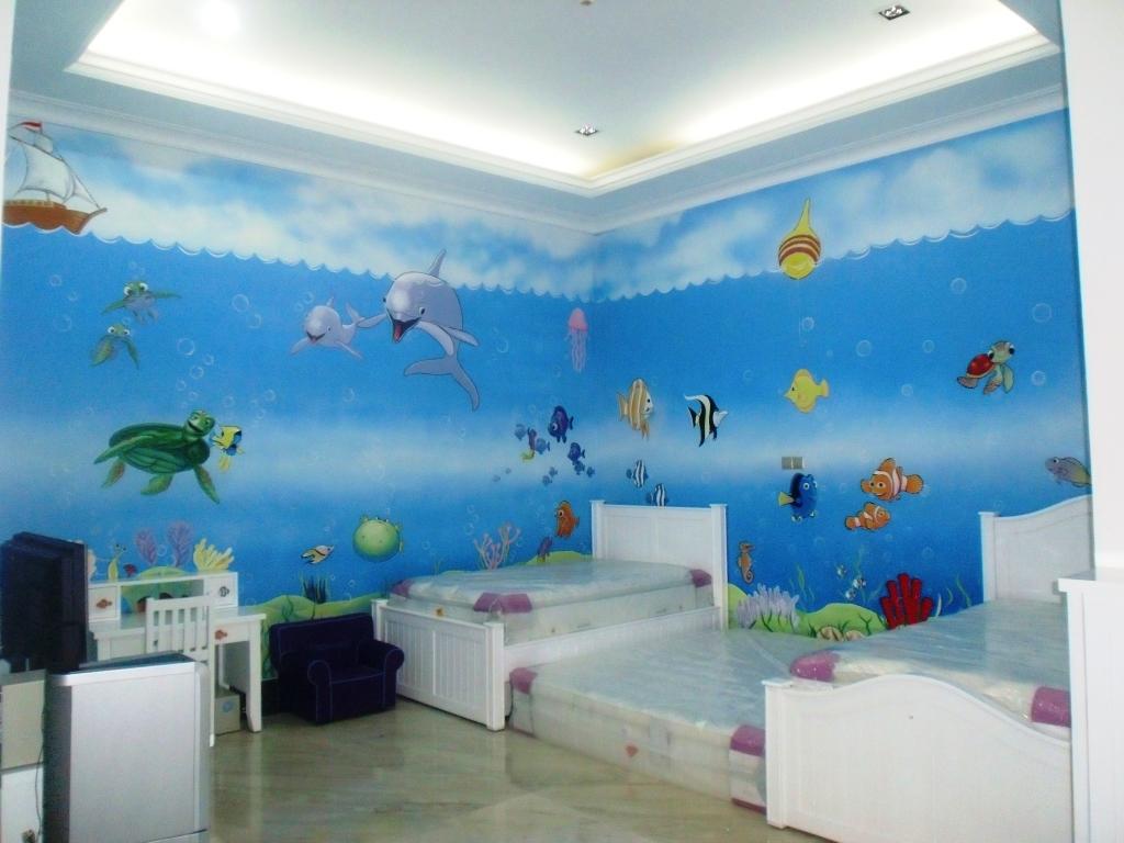Mural art mural cafe mural indonesia lukisan mural for Mural hitam putih