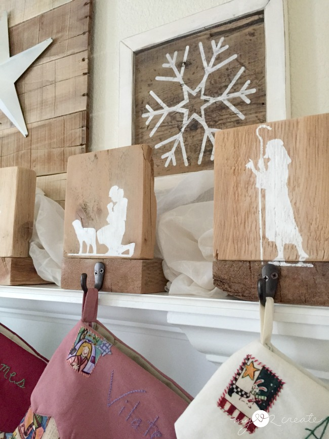 Nativity Stocking Hangers, MyLove2Create