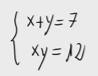5.Sistema de ecuaciones de segundo grado (sustitucion) 5