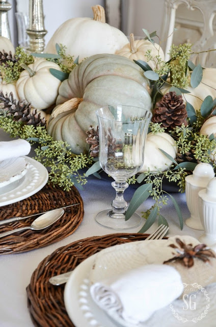 Stonegable: Thanksgiving Table