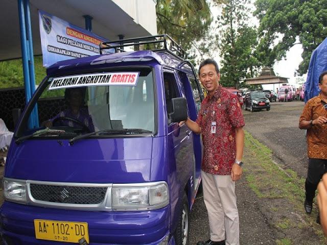 Kebumen Launching Angkutan Gratis