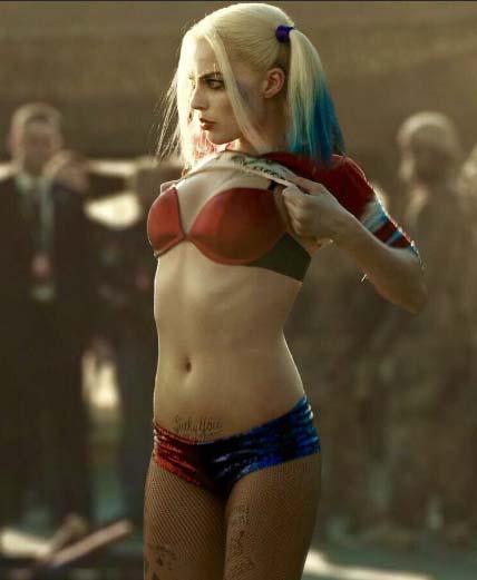 Margot Robbie Hot & Sexy as Harley Quinn
