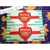 Skin Garskin evercoss G7T gambar sepakbola logo arsenal