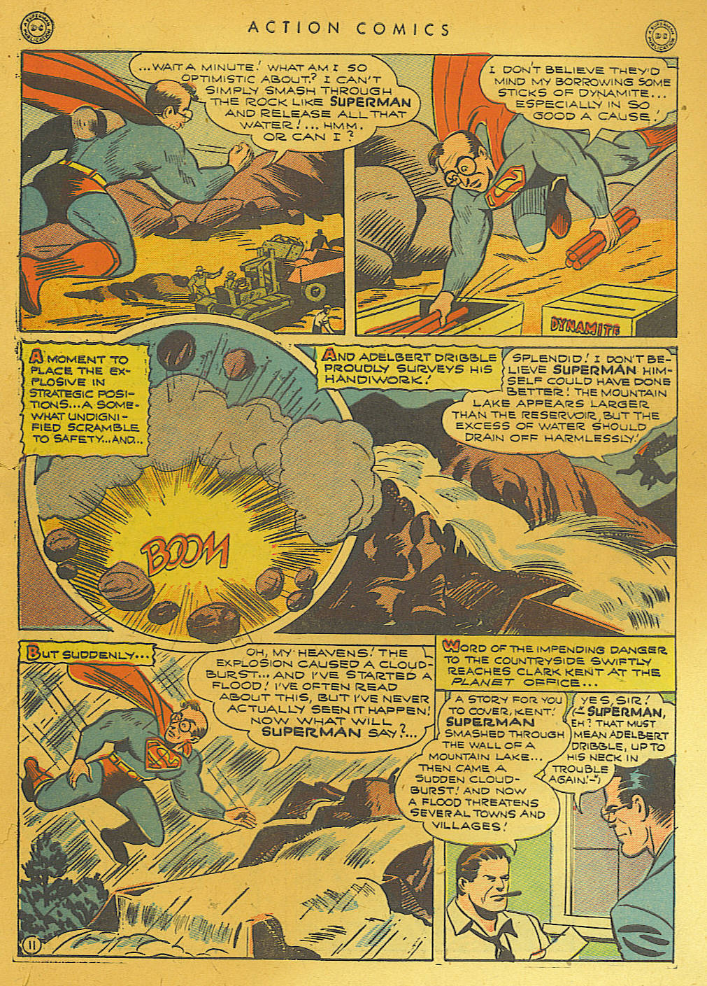 Read online Action Comics (1938) comic -  Issue #74 - 13