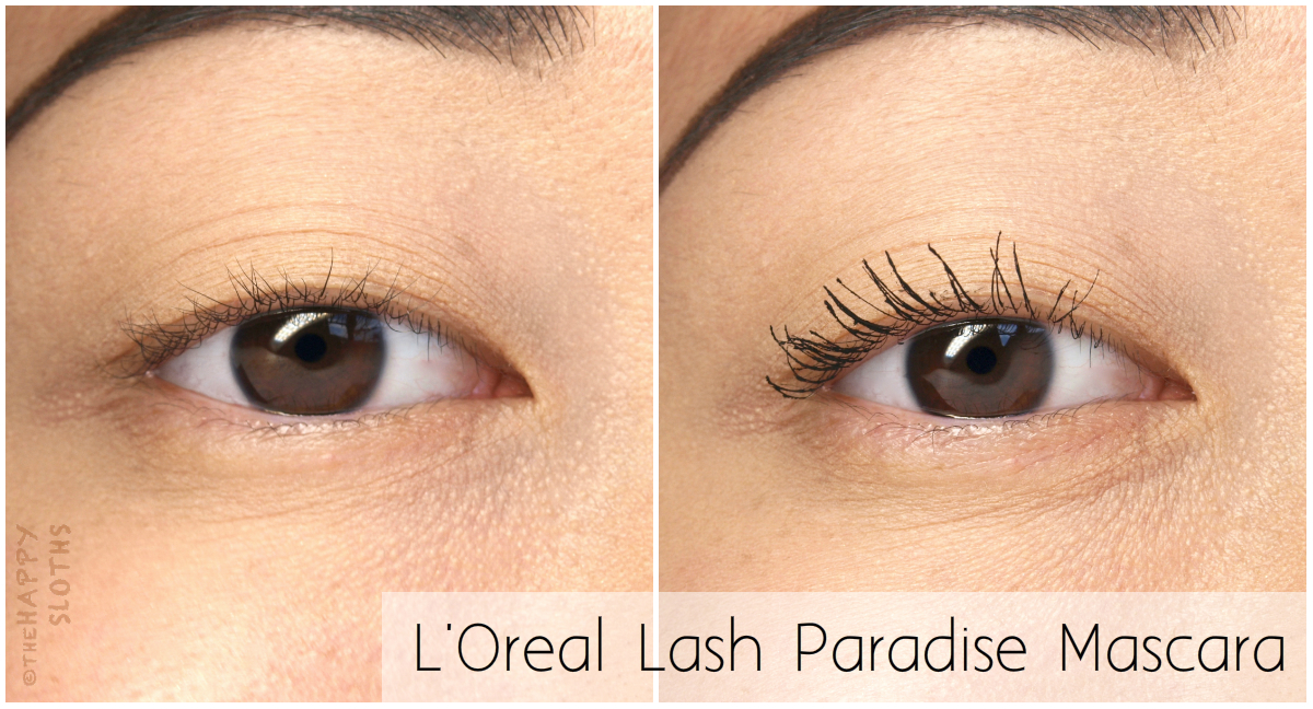 L'Oreal Voluminous Lash Paradise Mascara: Review and Swatches
