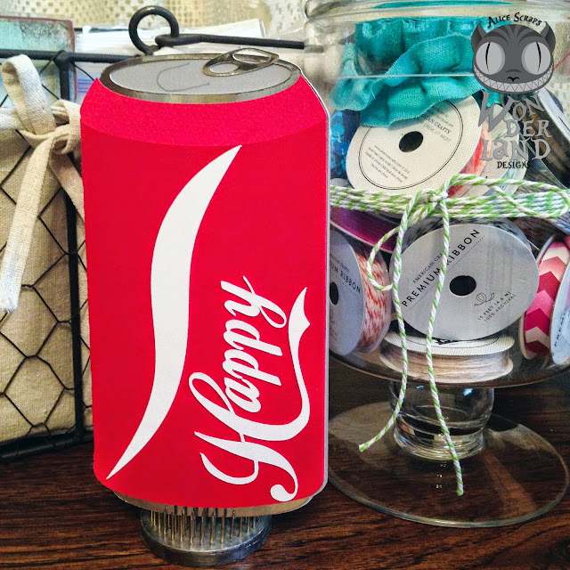 Coca-Cola, handmade, card, card making, paper crafting, birthday, soda, cola, pop