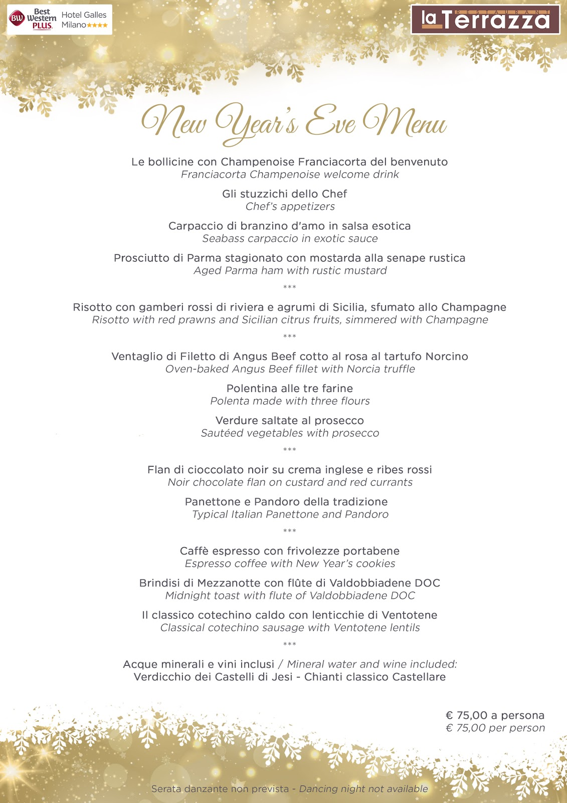 Best Western Plus Hotel Galles Milano: Pranzo e Cena al Ristorante ...