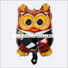Balon Foil Graduation Owl Mini