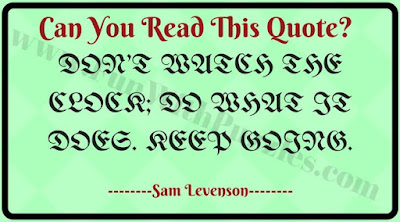 Can you read this text?