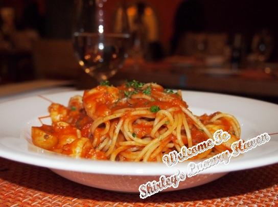 rws palio sea prawn tails spaghetti