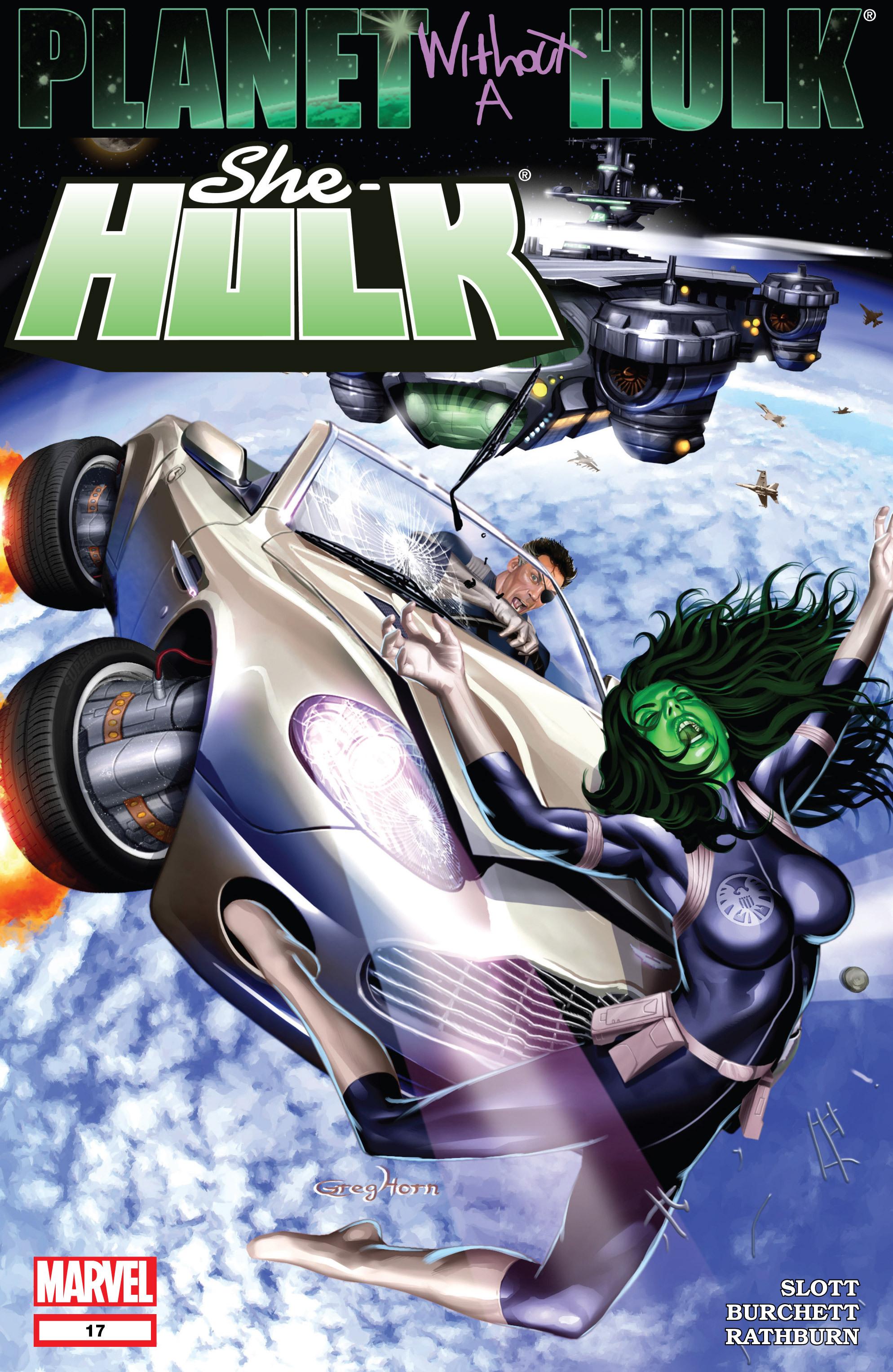 Read online She-Hulk (2005) comic -  Issue #17 - 1