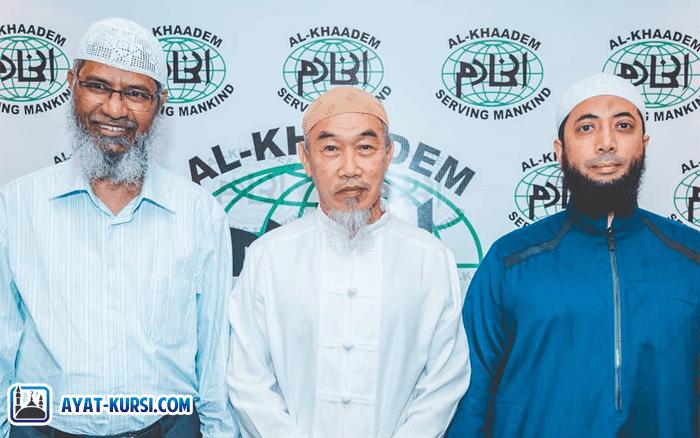 Zakir Naik dan Khalid Basalamah