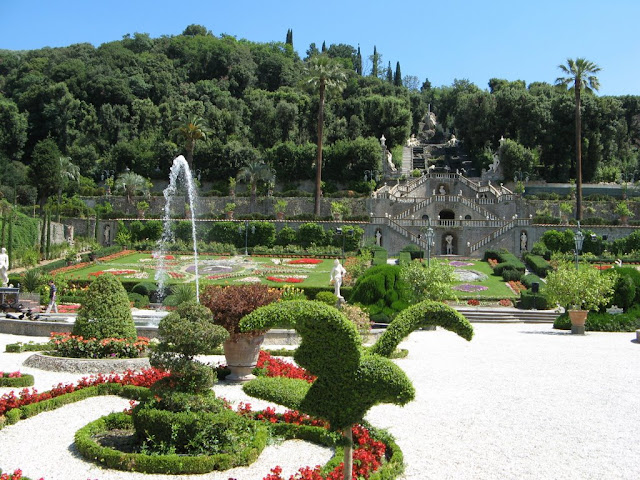 O que ver/fazer na Villa Garzoni em Lucca
